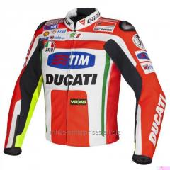 Racing D3 Leather Motorcycle Jacket D3