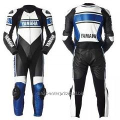 Motorcycle Racing leather suit for Professional Biker racing suit Yamaha