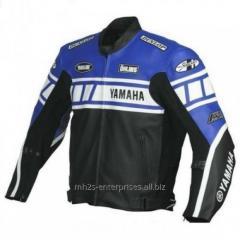 Custom Design Motorbike racing Jacket genuine leather OEM services