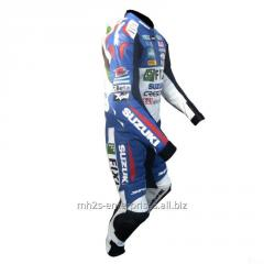 Buy Motorbike leather suit  Racing Professional Biker Suzuki FIXI