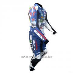 Motorbike leather suit  Racing Professional Biker Suzuki FIXI