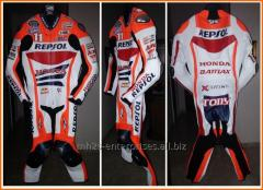 Racing Honda repsol leather racing suit