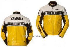 Racing Custom Motorbike racing Jacket genuine leather