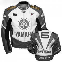 Yamaha-Motorcycle-Jacket-Leather Racing