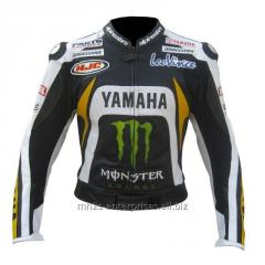 Super Speed D1 Leather Motorcycle Jacket Racing