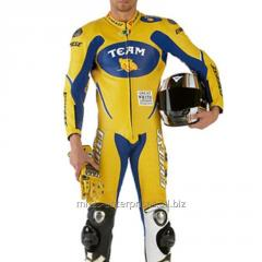 Custom Racing Motorcycle leather suit for Professional Biker design