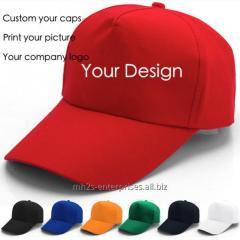 Baseball cap Custom 5/6 panel hats baseball hat and cap