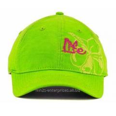 Fluorescent colour Baseball cap with custom logo