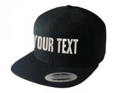 Fashion cap with logo