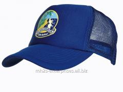 Baseball sports cotton blue cap with logo