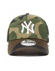 Baseball Sports camouflage caps with NY logo