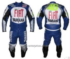 Custom Biker leather racing suit High quality cowhide 100%