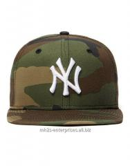 Sports Army caps with NY logo