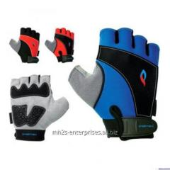 Sublimation Leather Workout Gloves /Quality Fitness,Men gym fitness gloves