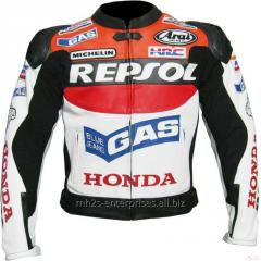 Leather protection wears motor jackets custom made