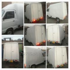 Fiberglass pick up hood/body/cabin