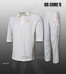 HS Core 5 White Cricket kit