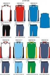 Custom Muscle Basketball Uniform Set