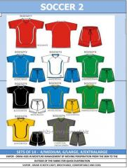 Custom design and logo Nitro Soccer Jersey Shorts Kit Sets