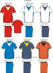 Buy sports MEN WOMEN Soccer/football, Basketball Uniform Jersey and Short Set Customized logo/Sublimated