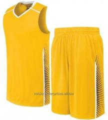 Buy sports Soccer/football, Basketball Uniform Jersey and Short Set Customized logo/Sublimation