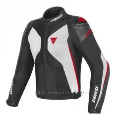 Women Avro D1 Leather Motorcycle Jacket