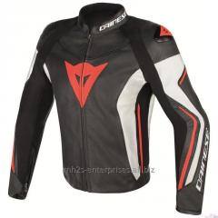 Avro Leather Motorbike Jacket
