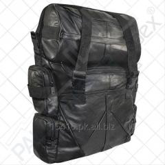 Deluxe Cowhide Leather Sissy Bar Bag