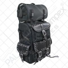 Motorcycle Sissy Bar Touring Pack Bag
