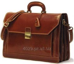 Real cow leather laptop bag
