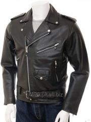 BRANDO BIKER MEN LEATHER JACKET