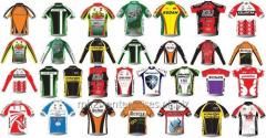 Sports Cycling Uniform shirts with logo