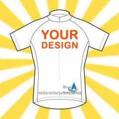 Cycling Sportswear custom jersey with logo