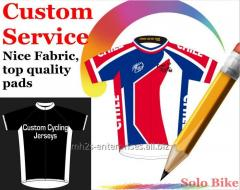 Cycling Sportswear custom shirt with logo