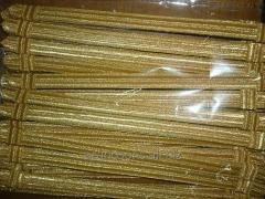 Gold Mettalic Cap Cord