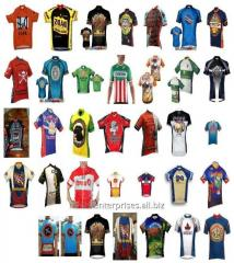 Custom cycling shirt maker sublimated sports jersey new model