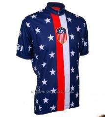 Custom cycling sublimated sports jersey new model