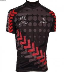 Custom cycling jersey maker sublimated sportswear new