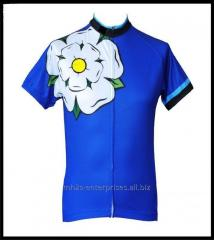 Design new Cycling shirt Custom made sublimated sports jersey