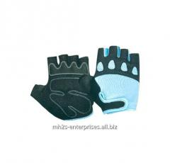 Custom sublimation road cycling gloves/synthetic leather biker gloves