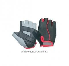 Cycling gloves leather bike racing gloves