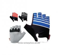Custom color road cycling gloves/synthetic leather biker gloves