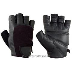 Cycling glove leather biker gloves