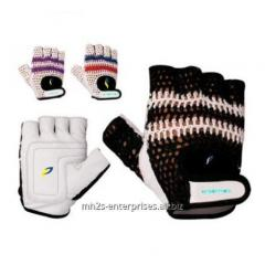 Cycling riding gloves leather biker gloves
