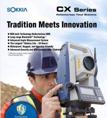 Sokkia (Japan) Total Station Model CX105