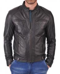 The kays leather new fashion biker leather jacket