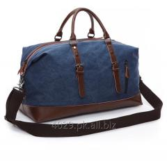 Cotton canvas travel bag
