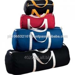 The cotton canvas travel bag