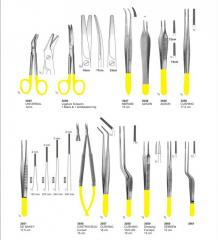 Scissors & Dissecting forceps With Tungsten Carbide instruments pak surgical