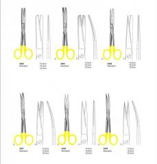 Standard Scissors with tungsten Carbide instruments Pak Surgical